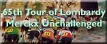 Tour of Lombardy Merckx
