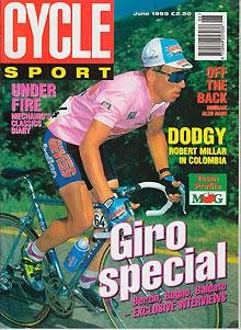 Cycle sport 1995 - Poel van blanco hoek ...