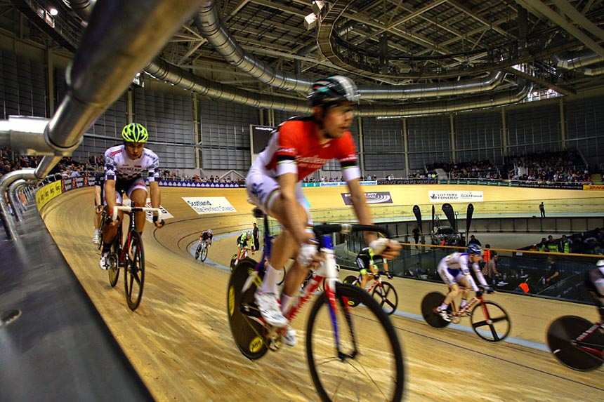 Glasgow Velodrome Racing Revolution 2-Feb-2013