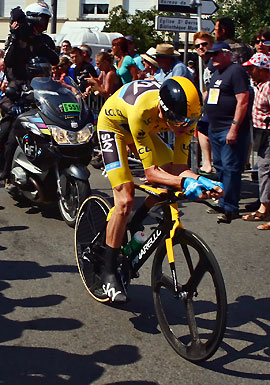 Froome leads 2013 Tour de France